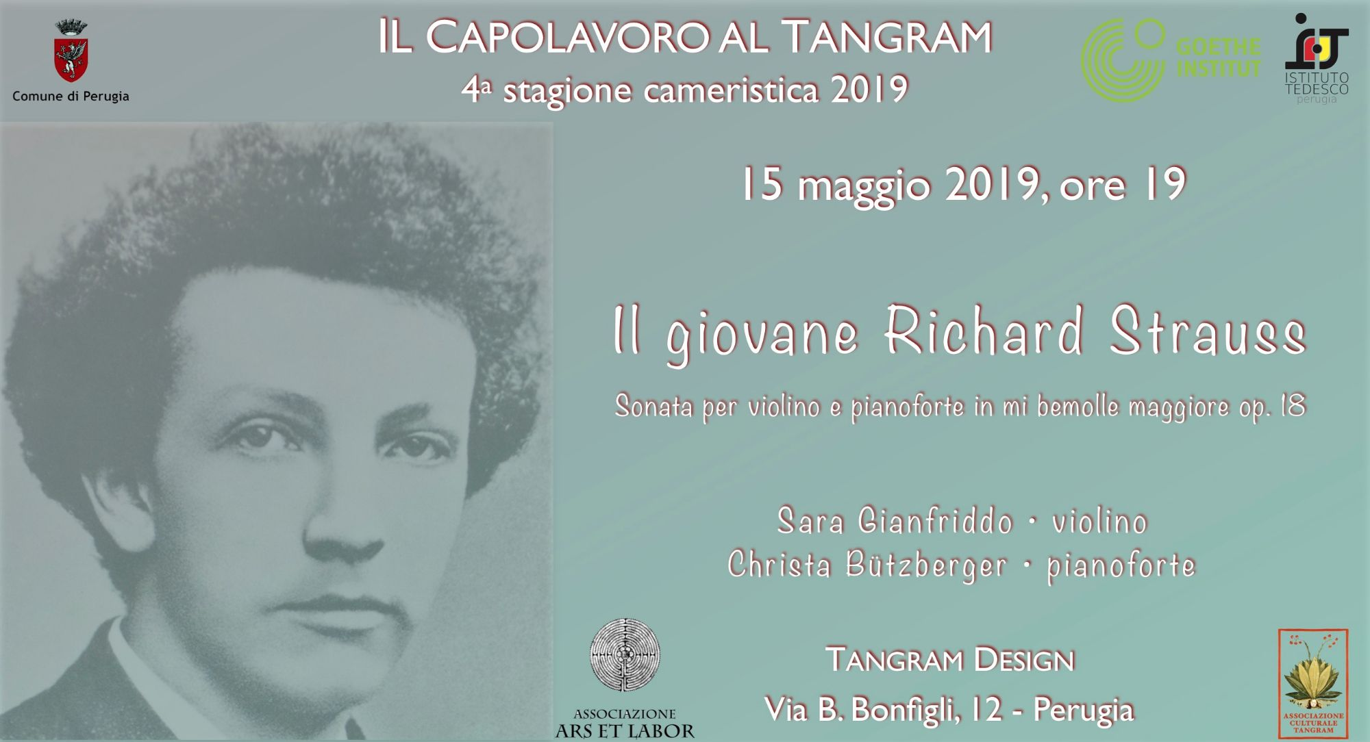 Il giovane Richard Strauss a
